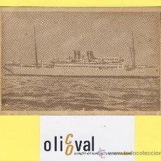 Postales: BARCO-BARCOS - CIE TRASMEDITERRANEA- CIUDAD DE SEVILLA - AÑOS 40 -135 X 91 MM POSTAL-P-1029. Lote 28812427