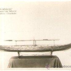 Postales: POSTAL DE TEMATICA BARCO - GOSTADSSKEPPET - VIKINGASKEPP, MARINMUSEUM I STOCKHOLM. Lote 28895426