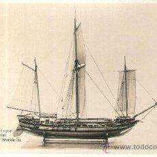 Postales: POSTAL DE BARCO - SVENSK CHEBEQUE 1700 -TALET MARINMUSEUM I STOCKHOLM. Lote 28895761