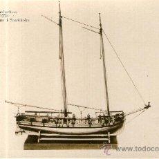 Postales: POSTAL BARCO - KANONBARKASS 1770 MARINMUSEUM I STOCKHOLM. Lote 28895774