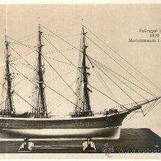 Postales: POSTAL BARCO - FULLRIGAT SKEPP 1870 MARINMUSEUM I STOCKHOLM. Lote 28895791
