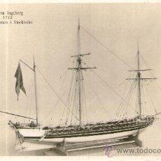 Postales: POSTAL BARCO - UDEMA INGEBORG 1772 MARINMUSEUM I STOCKHOLM. Lote 28895849
