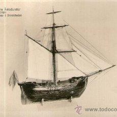 Postales: POSTAL BARCO - BOMBKITZEN ASKEDUNDER 1689 MARINMUSEUM I STOCKHOLM. Lote 28895870