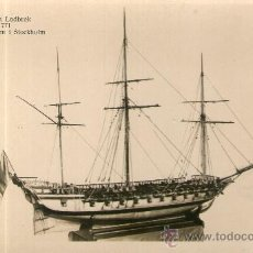 Postales: POSTAL BARCO - TURUMA LODBROK 1771 MARINMUSEUM I STOCKHOLM - . Lote 28895981