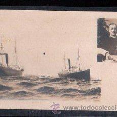 Postales: TARJETA POSTAL DE GRAN BARCO. Lote 29076910