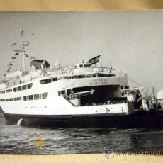 Postales: ANTIGUA FOTO POSTAL, BARCO, VICTORIA ALGECIRAS, 1955. Lote 29540235