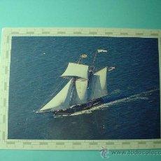 Postales: POSTAL. BARCO PRIDE OF BALTIMORE. SIN CIRCULAR. Lote 29801206