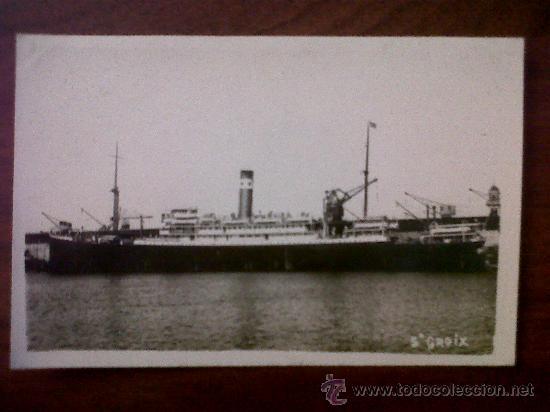 POSTAL-FOTOGRAFIA-CARTE POSTALE-BARCO ST.GROIX (Postales - Postales Temáticas - Barcos)