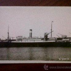 Postales: POSTAL-FOTOGRAFIA-CARTE POSTALE-BARCO ST.GROIX. Lote 30189636