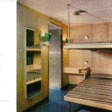 Postales: YBARRA Y CIA.SA. CABO SAN ROQUE. CAMAROTE DE CABIN CLASS. Lote 30602512