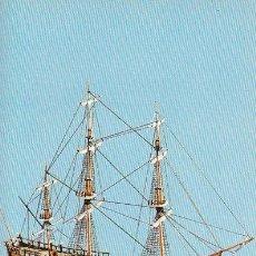 Postales: EL ENDEAVOUR, BARCO EN EL QUE SE EMBARCÓ EL CAPITÁN COOK HACIA TAHITÍ EN 1768 . Lote 30694941