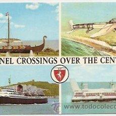 Postales: BUQUES PARA CRUZAR EL CANAL DE LA MANCHA. Lote 31026824