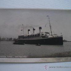 Postales: TRASATLANTICO CAP ARCONA - BUENOS AIRES - POSTAL FOTOGRAFICA (BARCO - BUQUE). Lote 31120153