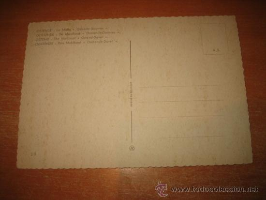 Postales: OSTENDE:LA MALLE OSTENDE -DOUVRES - Foto 2 - 31184561
