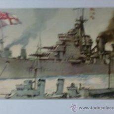 Postales: TARJETA POSTAL. MARINA DE GUERRA, INGLATERRA. ACORAZADO KING GEORGE V. VER FOTO ADICIONAL.. Lote 31971204