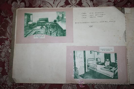 Postales: INTERESANTE COLECCIÓN DE FOTOGRAFÍAS, POSTALES Y RECORTES DE PERIÓDICO DE BARCOS - Foto 3 - 32336437
