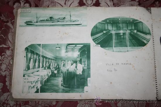 Postales: INTERESANTE COLECCIÓN DE FOTOGRAFÍAS, POSTALES Y RECORTES DE PERIÓDICO DE BARCOS - Foto 5 - 32336437