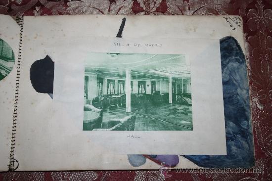 Postales: INTERESANTE COLECCIÓN DE FOTOGRAFÍAS, POSTALES Y RECORTES DE PERIÓDICO DE BARCOS - Foto 6 - 32336437