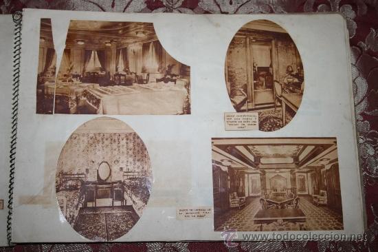 Postales: INTERESANTE COLECCIÓN DE FOTOGRAFÍAS, POSTALES Y RECORTES DE PERIÓDICO DE BARCOS - Foto 7 - 32336437
