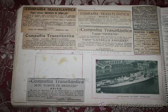 Postales: INTERESANTE COLECCIÓN DE FOTOGRAFÍAS, POSTALES Y RECORTES DE PERIÓDICO DE BARCOS - Foto 13 - 32336437