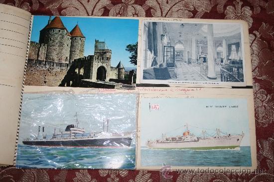 Postales: INTERESANTE COLECCIÓN DE FOTOGRAFÍAS, POSTALES Y RECORTES DE PERIÓDICO DE BARCOS - Foto 18 - 32336437