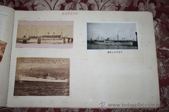 Postales: INTERESANTE COLECCIÓN DE FOTOGRAFÍAS, POSTALES Y RECORTES DE PERIÓDICO DE BARCOS - Foto 20 - 32336437