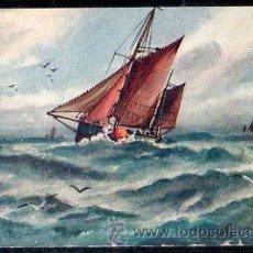 Postales: TARJETA POSTAL. THE BUSY OCEAN. 9693. RAPHAEL TUCK & SONS. OILETTE. Lote 32365840