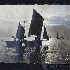 Postales: POSTAL BARCOS. COTE D'OPALE. BATEAUX DE PÊCHE. ED. ART YVON.. Lote 32488955