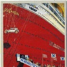 Postales: POSTAL DE BARCO. BREMEN EUROPA COLUMBUS P-BAR-280,9. Lote 175795543