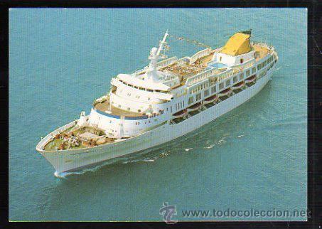 TARJETA POSTAL DEL OCEAN PRINCESS: FLGSHIP OF OCEAN CRUISE LINES (Postales - Postales Temáticas - Barcos)