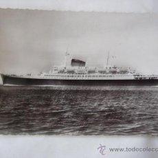 Postales: POSTAL FOTOGRAFICA. COMPAGNIE GENERALE TRANSATLANTIQUE. FRENCH LINE. FLANDRE.. Lote 33251026