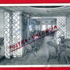 Postales: POSTAL, BARCO, BUQUE REINA VICTORIA EUGENIA, INTERIOR, P71337. Lote 33383779