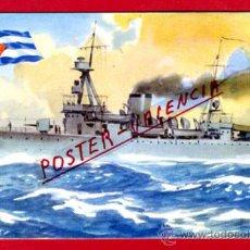 Postales: POSTAL, BARCO, CRUCERO CUBA, P71352. Lote 33383971