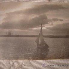 Postales: ANTIGUA TARJETA POSTAL ORIGINAL P.P.S.XX BARCO BARCOS, CA. 1910/20. Lote 33751510
