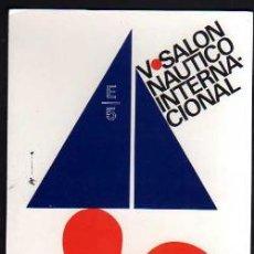 Postales: POSTAL V SALÓN NÁUTICO INTERNACIONAL. BARCELONA 1967. NO CIRCULADA.. Lote 34121921