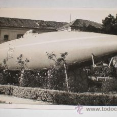 Postales: ANTIGUA FOTO POSTAL, SUBMARINO ARMADA ESPAÑOLA, FOTOGRAFO CASAÚ - CARTAGENA. Lote 34222284