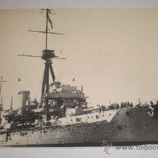 Postales: POSTAL DE BAZAN, ACORAZADO HMS DREADNOUGHT. Lote 34331720