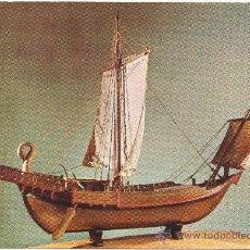 Postales: NAVE MERCANTE ROMANA DEL SIGLO II.. Lote 35624799