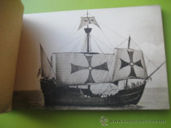 Postales: Carabela Santa Maria. Fotografías oficiales. Kallmeyer y gautier. 12 postales - Foto 2 - 36289878