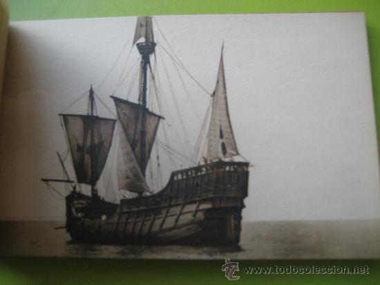 Postales: Carabela Santa Maria. Fotografías oficiales. Kallmeyer y gautier. 12 postales - Foto 4 - 36289878