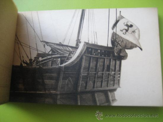 Postales: Carabela Santa Maria. Fotografías oficiales. Kallmeyer y gautier. 12 postales - Foto 5 - 36289878
