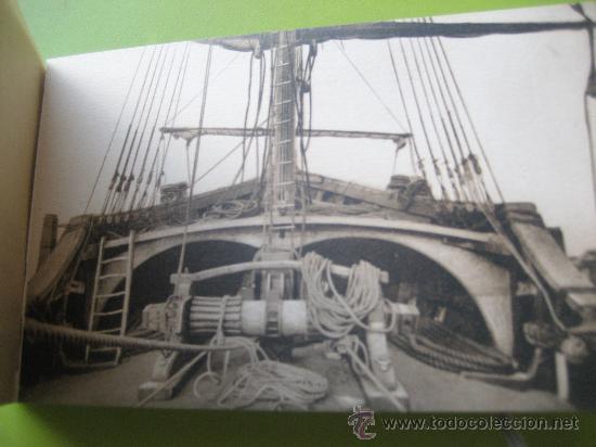 Postales: Carabela Santa Maria. Fotografías oficiales. Kallmeyer y gautier. 12 postales - Foto 11 - 36289878