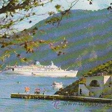 Postales: EL MTS DAPHNE DE LA COMPAÑIA DELIAN CRUISE EN EL PIREO (GRECIA). Lote 36924451