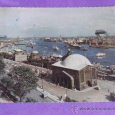 Postales: PUERTOS Y BARCOS 2 - ESCRITA-HAMBURG-1958. Lote 38311686
