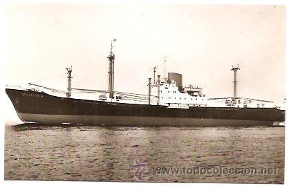 NORDDEUTSCHER LLOYD BREMEN: EL MS SPREESTEIN (Postales - Postales Temáticas - Barcos)