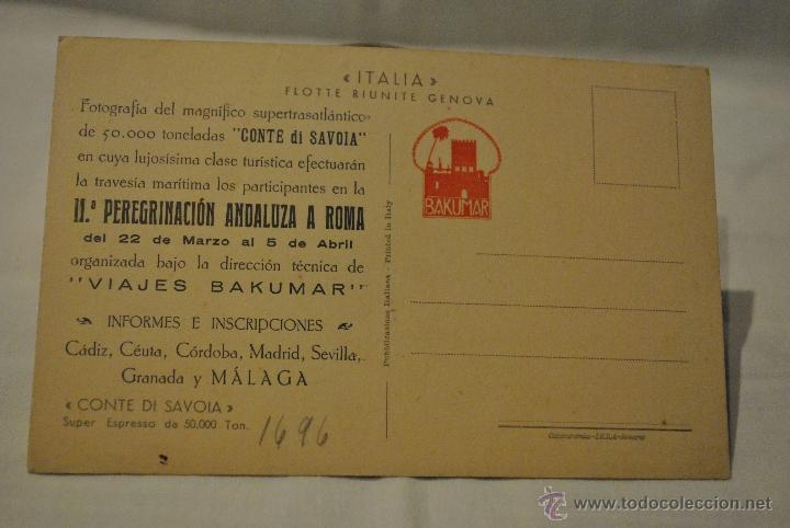 Postales: CONTE DI SAVOIA - Foto 2 - 39724070