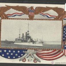 Postales: U.S BATTLESHIP KEARSAGE - BARCO -(17784). Lote 39809033