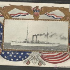 Postales: U.S.S CLEVELAND - COPYRIGHTED 1906 BY WALDON FAWCETT - BARCO- (17785). Lote 39809089
