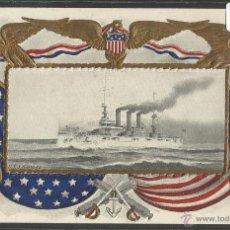 Postales: US.S KANSAS - BARCO - (17789). Lote 39809323