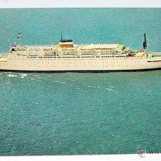 Postales: ANTIGUA POSTAL DE AMERICAN EXPORT ISBRANDTSEN LINES-S.S.ATLANTIC- CIRCULADA CON SELLO 1967. Lote 38234405
